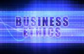 Business Ethics background — Stock Photo