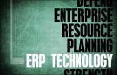 ERP Technology background — Stock Photo