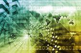 Telecommunications Technology background — Stock Photo
