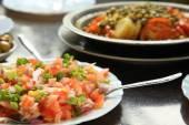 Moroccan Tomato Salad — Stock Photo