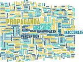 Propaganda kavramı — Stok fotoğraf