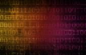 Flow of Digital Information — Stock Photo