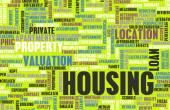 рынок жилья — Стоковое фото