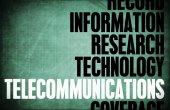 Telecommunications Core Principles — Stock Photo