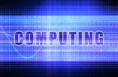 Computing  Background — Stock Photo