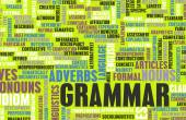 Grammar  Background — Stock Photo
