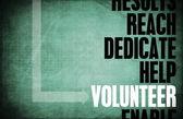 Volunteer  Background — Stock Photo
