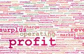 Profit background — Stock Photo
