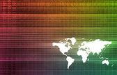 World map background — Stock Photo