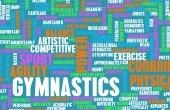 Gymnastics concept background — Foto Stock