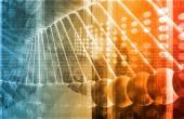 Biotechnology background — Stock Photo