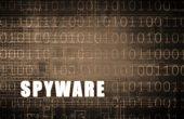 Spyware on a Digital Binary — Stock Photo