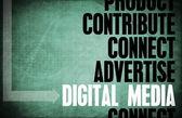 Digital Media Core Principles — Stock Photo