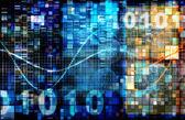 Digital Binary Code — Fotografia Stock