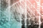 Medical Genetics Abstract Image — Stock Photo