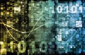Digital Binary Code — Stock Photo
