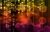 Genetic Science Research — Stock Photo
