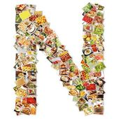 Letter N Uppercase Font — Stock Photo