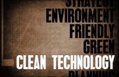 Clean Technology — Stock Photo