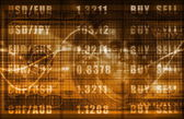 Forex Market — Stock Photo