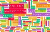 Onlinemarketing — Stockfoto