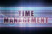 Time Management inscription — Stock Photo