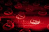 Cyberbeveiliging — Stockfoto