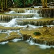 Waterfall in tropical deep forest — Stock Photo #57052843