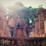 Columns of the Temple, Vietnam — Stock Photo #55896665