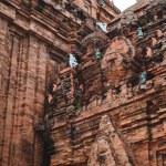 Columns of the Temple, Vietnam — Stock Photo #55896687