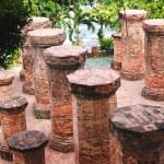 Columns of the Temple, Vietnam — Stock Photo #55896717