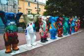 Exhibition, bears, global art — Zdjęcie stockowe