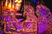 Scultura di ghiaccio — Foto Stock