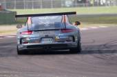 Porsche Carrera Cup Italia car racing  — 图库照片