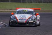 Porsche Carrera Cup Italia car racing — Stock Photo