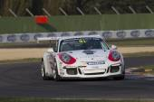 Porsche Carrera Cup Italia car racing  — Foto Stock