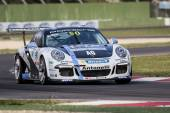 Porsche Carrera Cup Italia car racing  — Foto de Stock