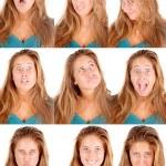 Facial expression — Stock Photo #54171527