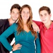 Teenage boys and girl — Stock Photo #61486815