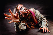 Zombie girl — Stock Photo