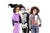 怖い衣装ハロウィーン子供 — ストック写真