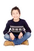 Little boy posing — Stock Photo