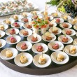 Assortment Appetizers and finger food — Stock fotografie #69327049