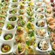 Assortment Appetizers and finger food — Fotografia Stock  #69327321