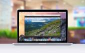 Apple MacBook Pro Retina shows Bing search web page — Stock Photo