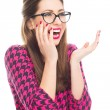 Surprised young woman — Stock Photo #65359773