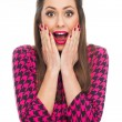 Surprised young woman — Stock Photo #65359137