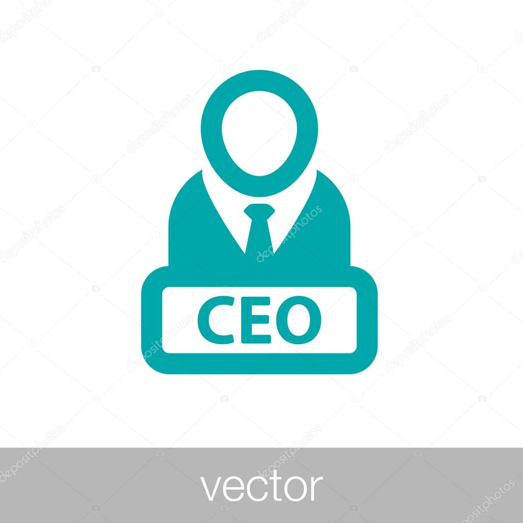 manager icon ceo icon boss icon � stock vector 85314492