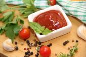 Tomato sauce - ketchup — Stock Photo