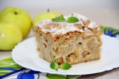 Jablečný koláč — Stock fotografie